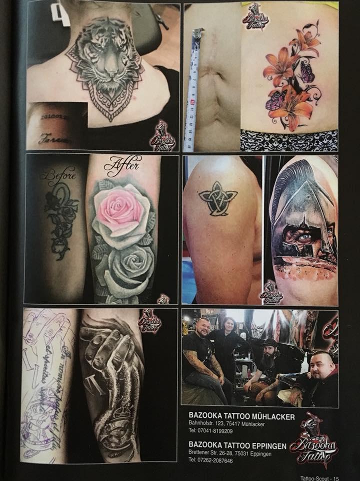 Tattoo Studio Zeitschrift
